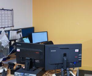 Linux desktop in Hursley